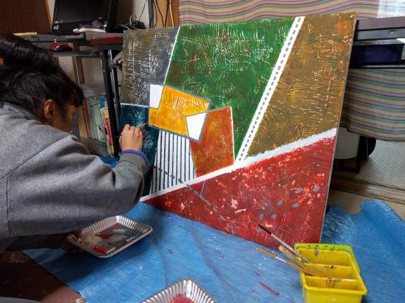 絵を描く人3