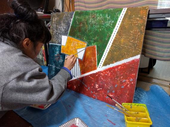 絵を描く人4
