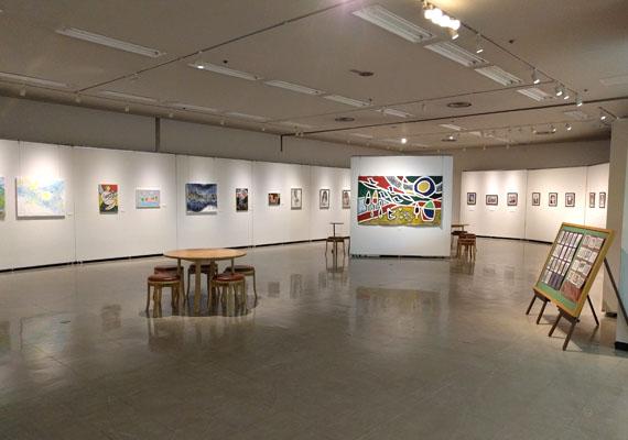 Michikam絵画展 展示風景