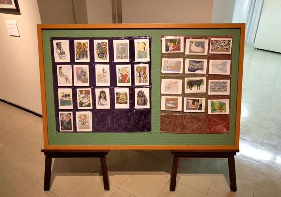 Michikam絵画展 ポストカード